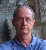 Barry Lewis at Virupaksha Temple, Hampi, India